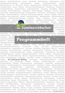 Programm Seminare